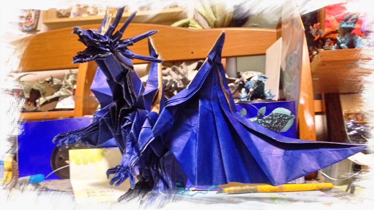 すべての折り紙 折り紙 エンシェントドラゴン : これぞ神業!折紙のドラゴン ...