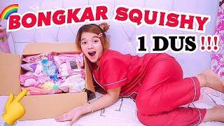 SUPER BANYAK 😜MYSTERY BOX SQUISHY PART 2 - HAUL & UNBOXING SQUISHY LOW BUDGET LUCU LUCU BANGET