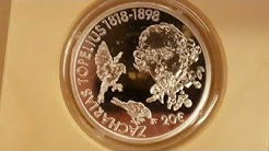 20 € euro 2018 Suomi finland zacharias topelius 1818 1898