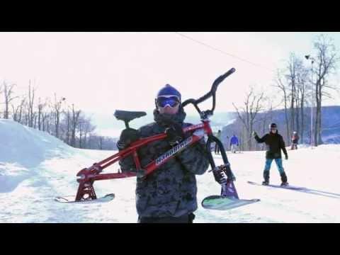 Сноубайк зимний велосипед Украина