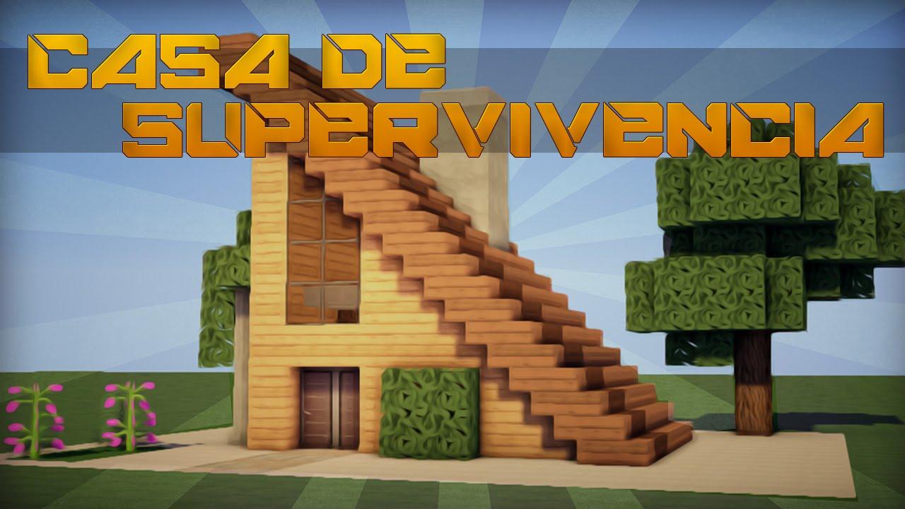 Casa Pequena De Madera Casa Minecraft Survival Planos Novocom top