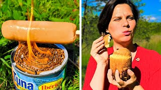 32 USEFUL CAMPING HAĊKS || 5-Minute Simple Ways To Cook Outdoors!