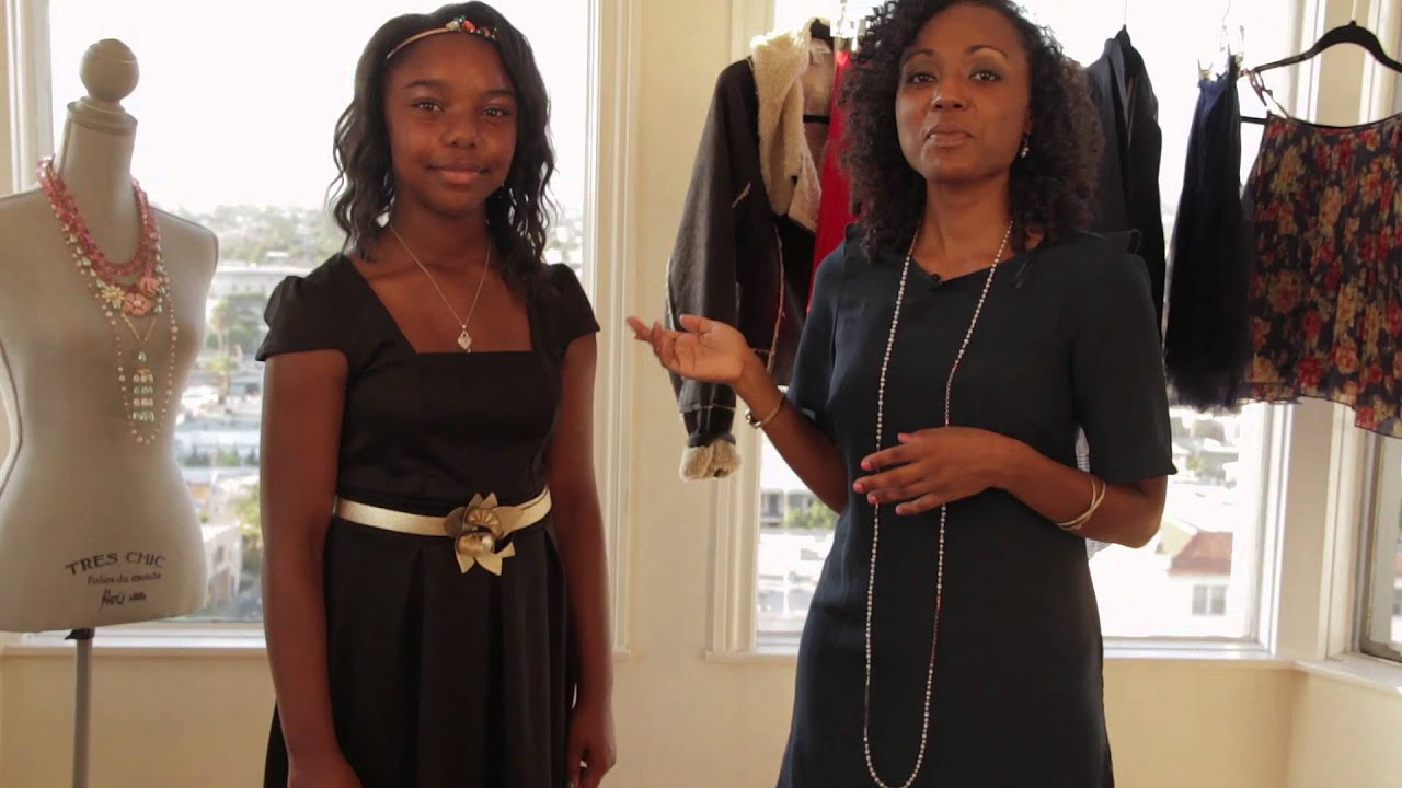 black preteen Five Ways for Teen Girls to Wear a Black Dress : Fashion for Preteen Girls