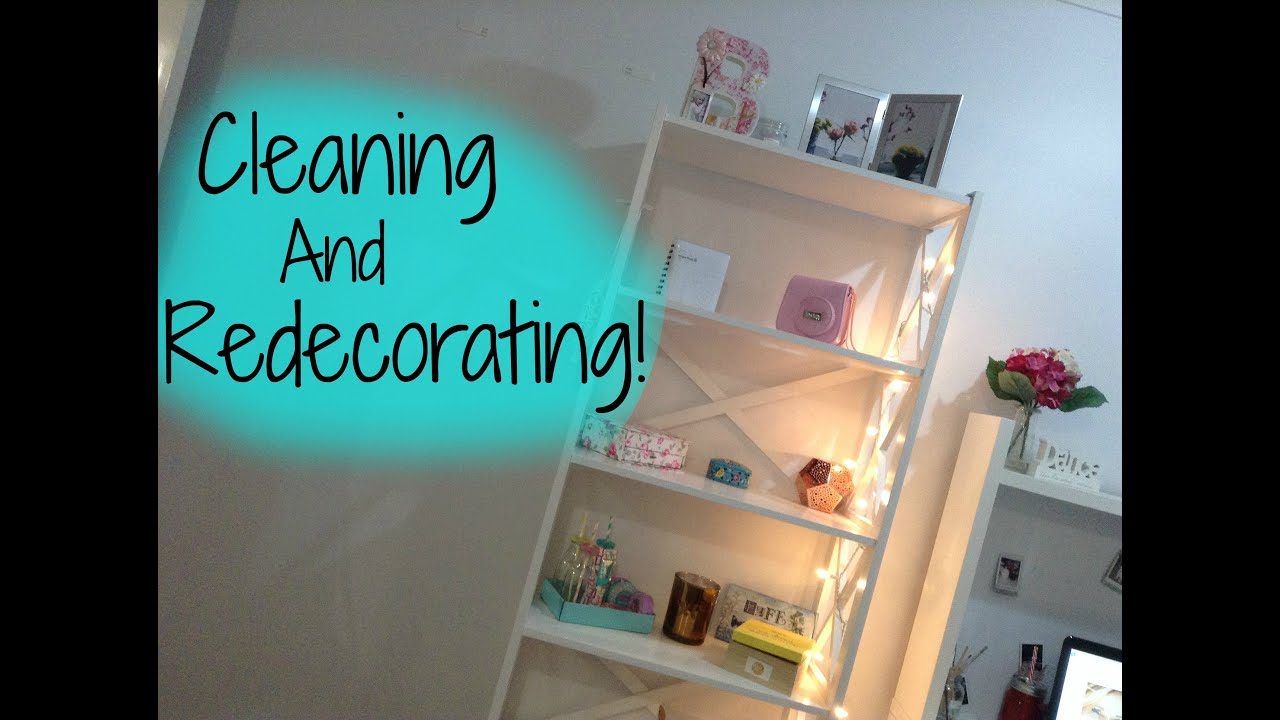 Redecorating My Room cleaning + redecorating my room! - youtube