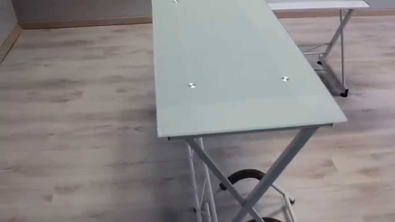 Scrivania Angolo Computer : Scrivania angolare tavolo computer mod exclusive youtube