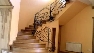 Перила 90  Кованые перила для деревянной лестницы Днепропетровск фото перила из металла для лестниц(посмотреть Кованые перила для деревянной лестницы Днепропетровск фото перила из металла для лестницы..., 2016-11-04T13:44:56.000Z)