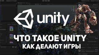 Что такое Unity. Как сделать игру