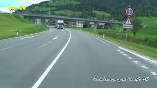 Autofahrt von Trautenfels nach Bad Mitterndorf zum Campingplatz Grimmingsicht 2018 jop TV