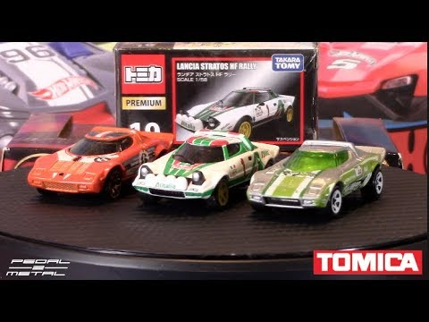 Tomica Lancia Stratos HF vs Hot Wheels Stratos | Quick Look & Comparison