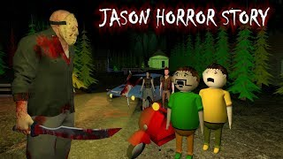 Jason - Horror Story Part 1 - Animated Stories | Animation In Hindi | Make Joke Horror
