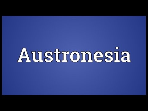 Austronesia Meaning