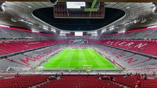 Allianz Arena renovation & redesign | New seats in Bayern look | Documentation