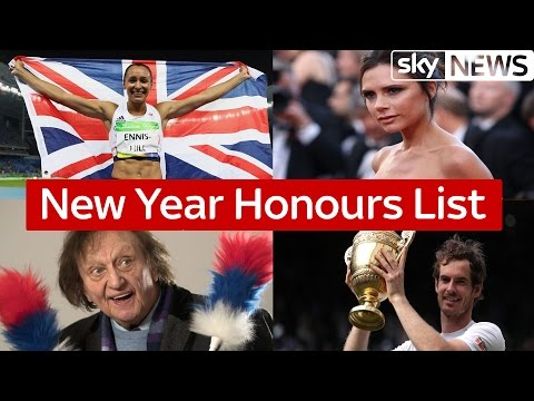 New Year Honours List revealed Mp3