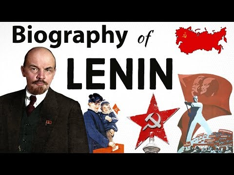 The Biography of Lenin and Russian Revolution - रूसी क्रांति