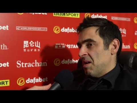 """""""There's only two other players that are comfortable with being winners."""" - Ronnie O'Sullivan"""
