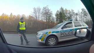 Car accident on the way to ostrava