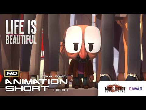 "CGI 3D Animated Short Film ""LIFE IS BEAUTIFUL"" Amazing Animation by Caviar"