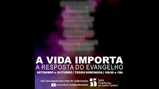 Culto Matutino - 20/09/2020   A RESPOSTA DO EVANGELHO À QUESTÃO PENITENCIÁRIA