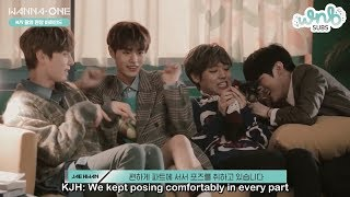 Gambar cover [ENG SUB] 181118 Wanna One - 'Spring Breeze' MV Filming Behind by WNBSUBS