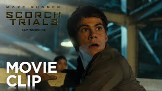 "Maze Runner: The Scorch Trials | ""Surrounded"" Clip [HD] 