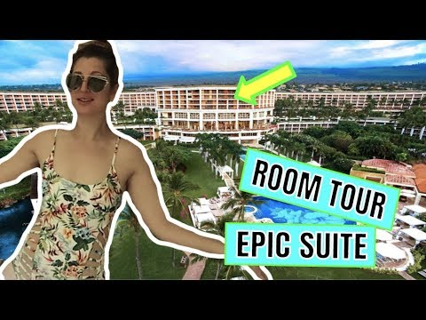 THE MOST INSANE HOTEL ROOM TOUR YOU WILL EVER SEE    MAUI HAWAII VACATION    Life with Jackie