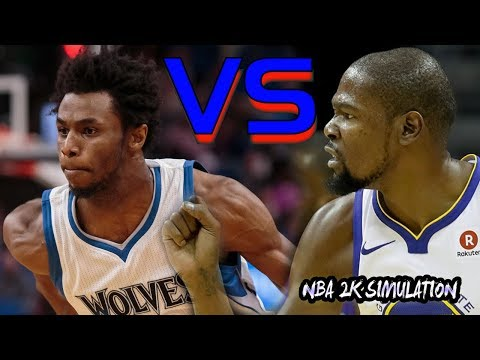 Golden State Warriors vs Minnesota Timberwolves | FULL GAME | March 11 | NBA 2K18