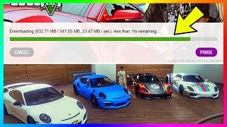 GTA 5 Gets A NEW Update - CRAZY DETAILS! Changes To GTA Online, DLC File Patches & MORE! (GTA 5)