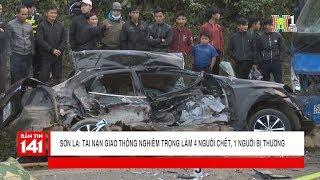 Tai nạn giao thông 4 người chết, 1 người bị thương trên quốc lộ 6 địa phận Sơn La | Nhật ký 141