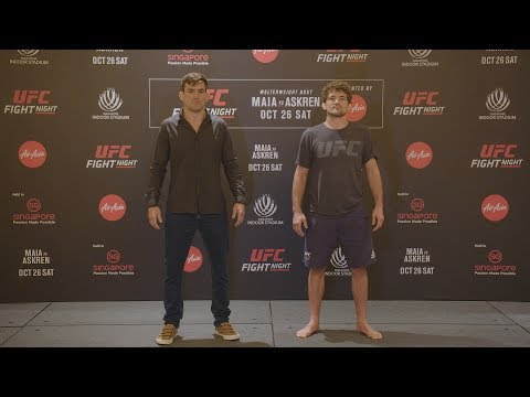 UFC Singapore: Media Day Faceoffs