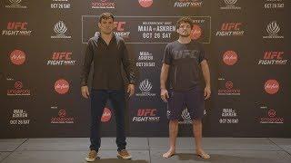 UFC Singapore: Media Day Faceoffs