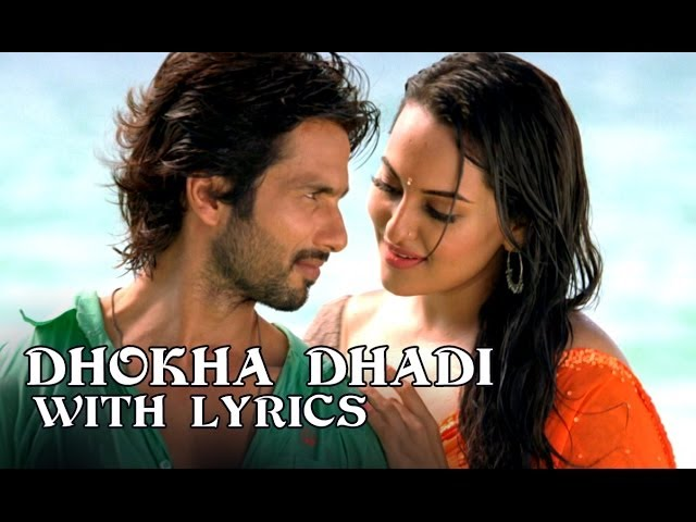 Dhokha Dhadi - Full Song With Lyrics - R...Rajkumar Travel Video