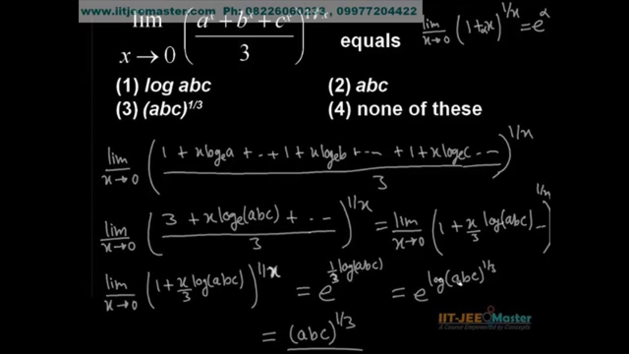 Solve limit problems online