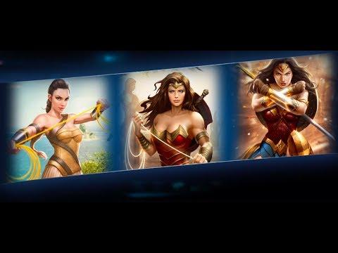 Unlocking Amazon Wonder Woman   Injustice 2 Mobile   Gameplay