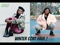 Thick/Curvy Girl Winter Coat Haul | URBAN OUTFITTERS | FOREVER 21 | H&M !