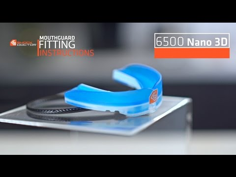 Shock Doctor | Nano 3D Mouthguard Fitting Video
