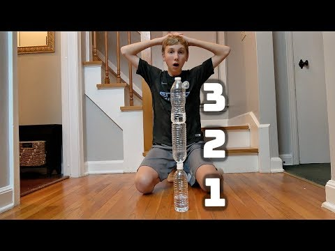 Water Bottle Flip Trick Shots 5 | That's Amazing