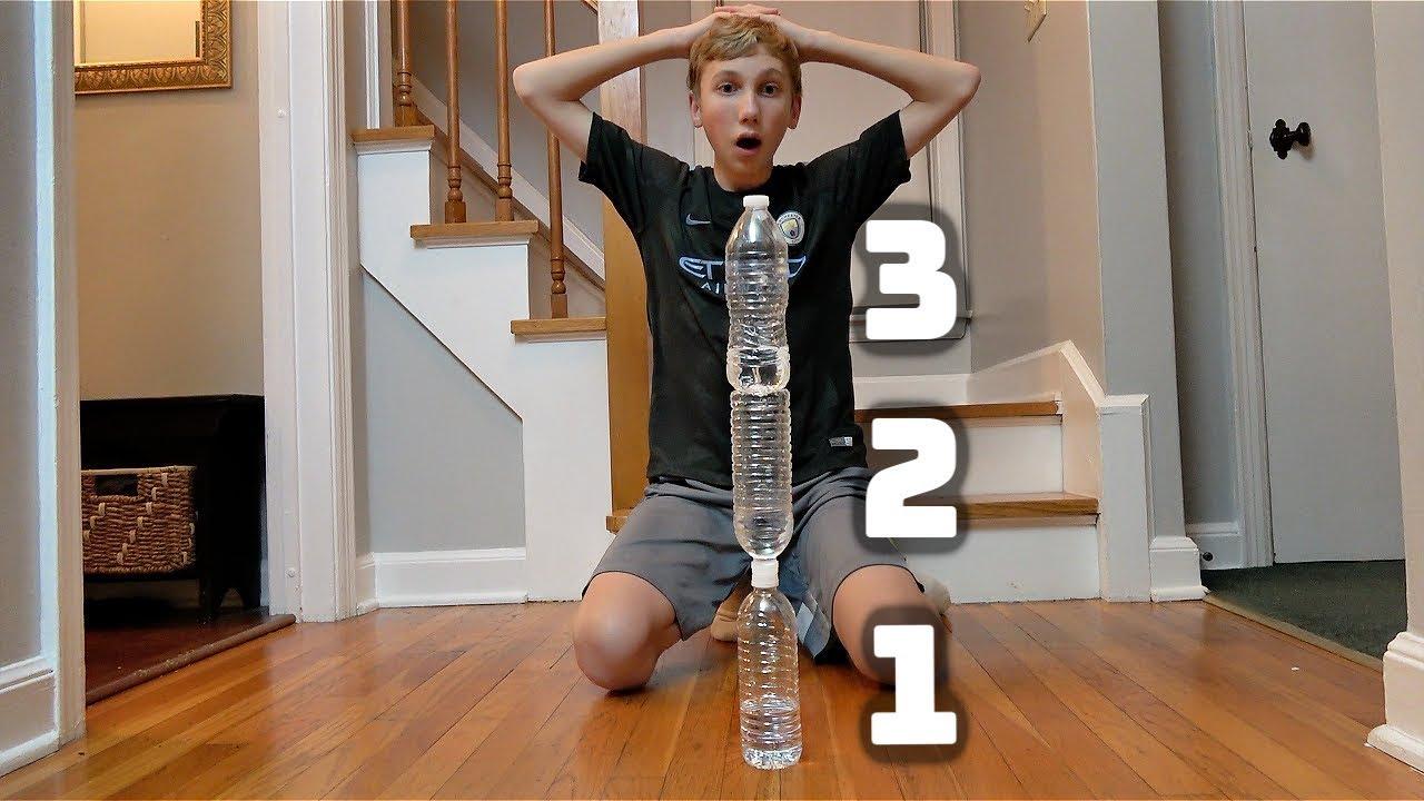 Water Bottle Flip Trick Shots 5 | That's Amazing