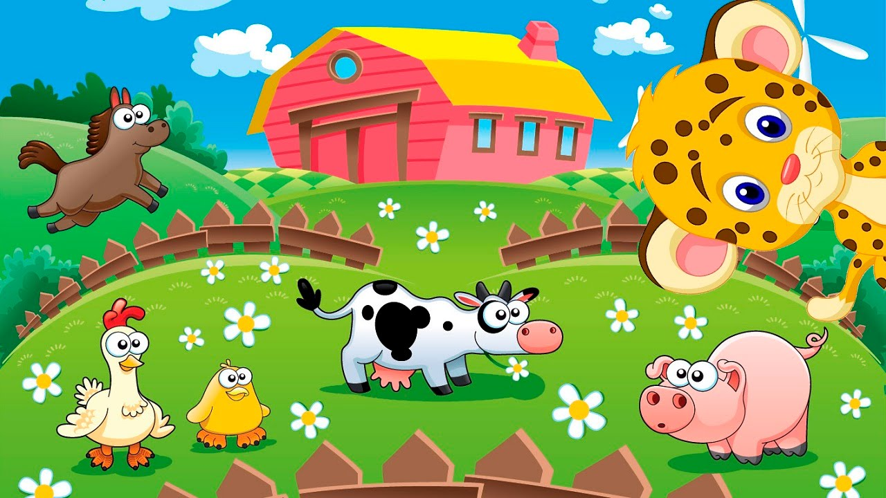 Adivinanzas Para Niños De Animales De Granja