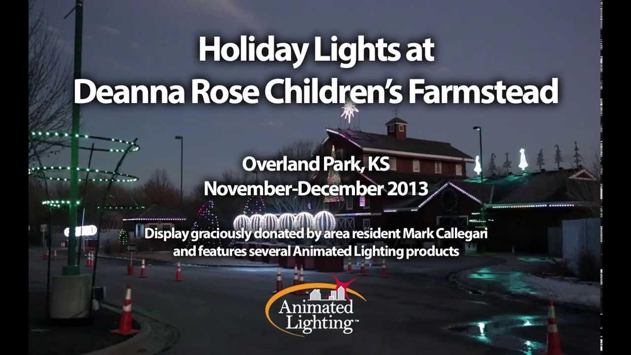 Superior Holiday Lights At Deanna Rose Farmstead