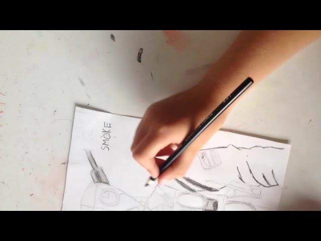 Drawing smoke from rainbow six siege