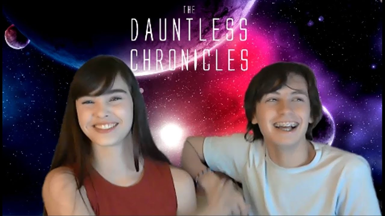 THE DAUNTLESS CHRONICLES: Interview w/ Teen Authors - Intergalactic Saga of 3 Alien Teens on Earth!