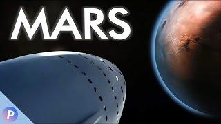 Elon Musk's Mars Transportsystem - SpaceX