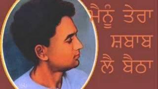Mainu tera Shabab Lai Baithha