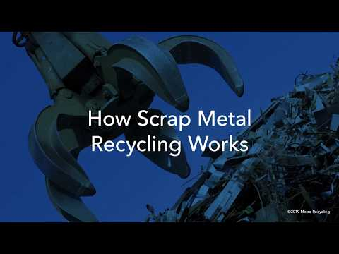 HOW ARE SCRAP METALS RECYCLED?