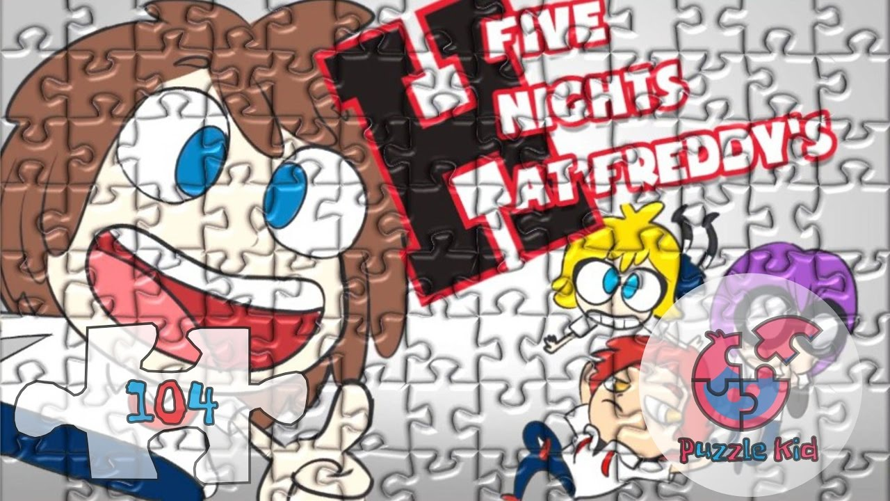 Juegos Rompecabezas Para Armar Five Nights at Freddy's High School - παζλ -  Puzzle Kid - YouTube