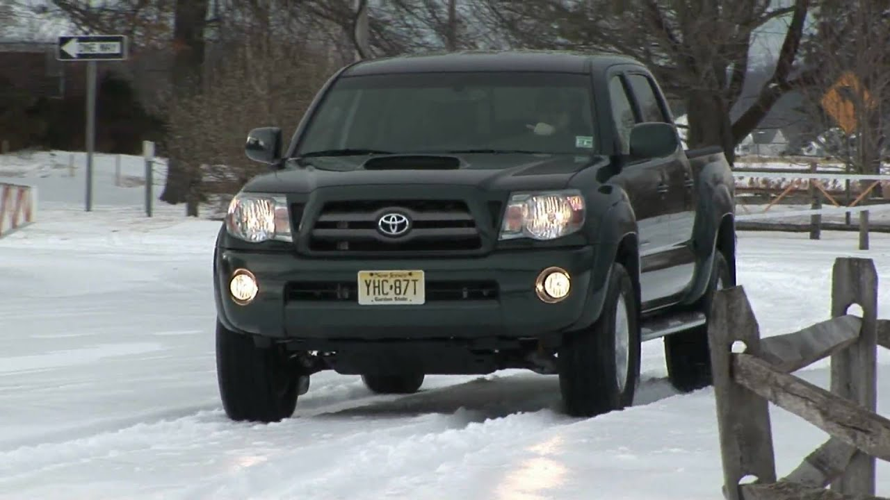 2009 toyota tacoma double cab v6 4x4 review by auto critic steve hammes youtube