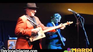 Stacy Mitchhart Band at Cape Mardi Gras Masquerade Party Video Bugged