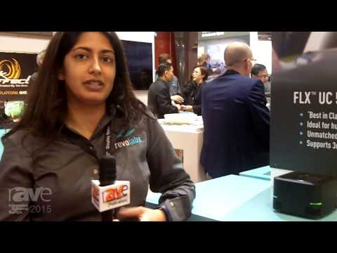 ISE 2015: RevoLabs Showcases the FLX UC 1000, 1500 and 500 Conference Phones