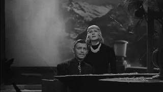 "Clark Gable and Norma Shearer sing ""Abide with Me"" in Idiot's Delight (Brown, 1939)"