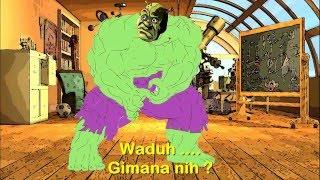 Animasi The Cendols - Hulk kutu kupret (animasi lucu)
